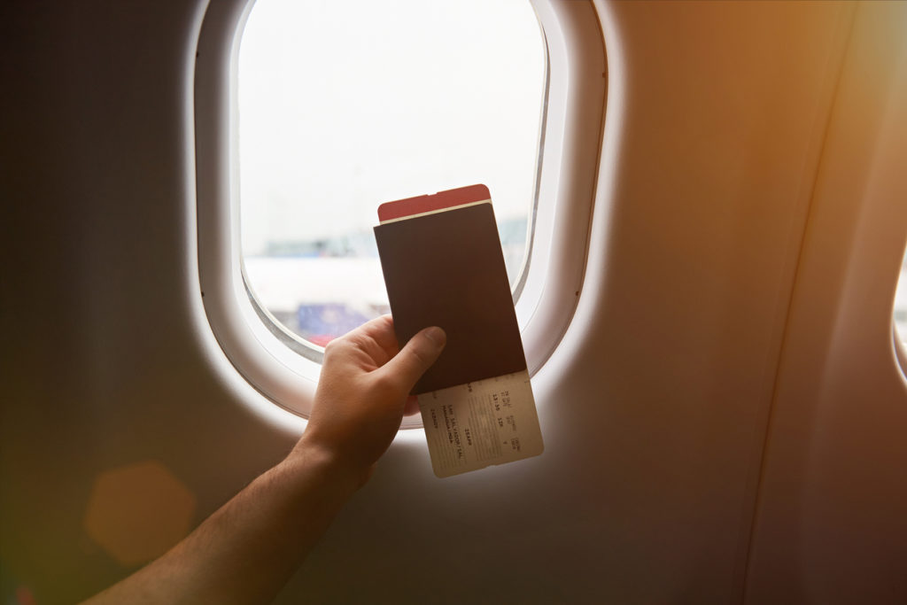 voo primeira classe