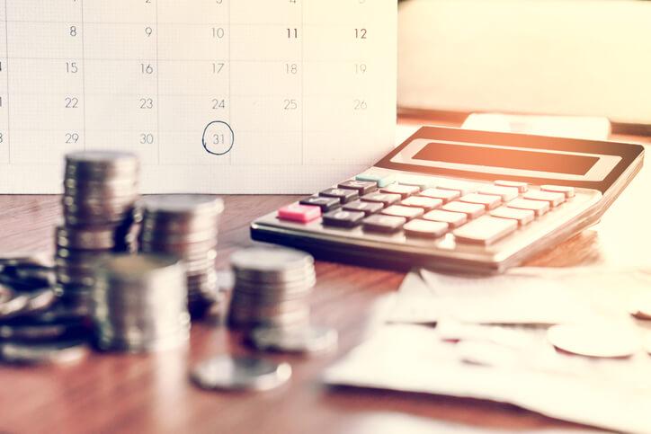 Imagem mostra cálculo financeiro