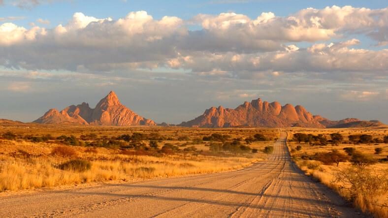 Imagem de deserto na Namíbia