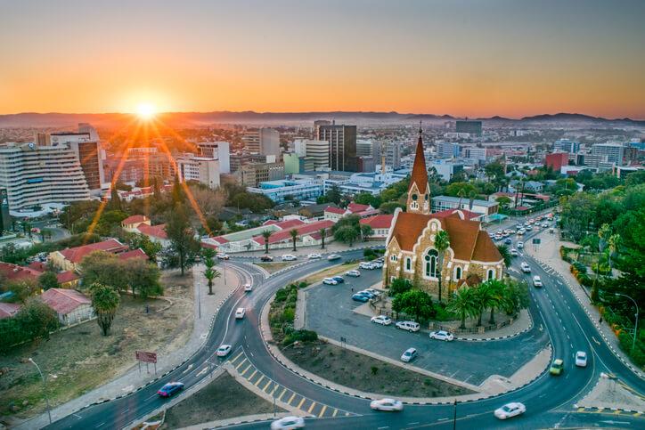 Imagem da Namíbia.