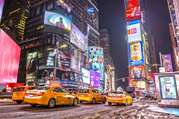 Imagem do centro de Nova York