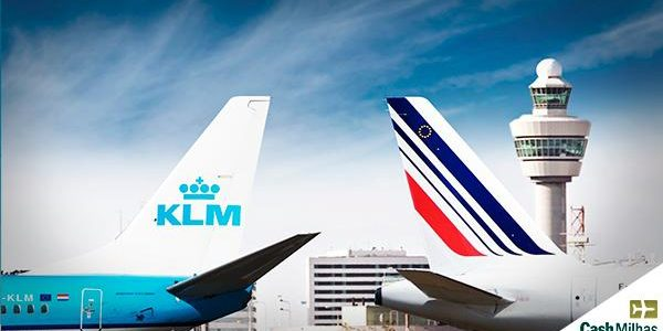 air france e klm viajar